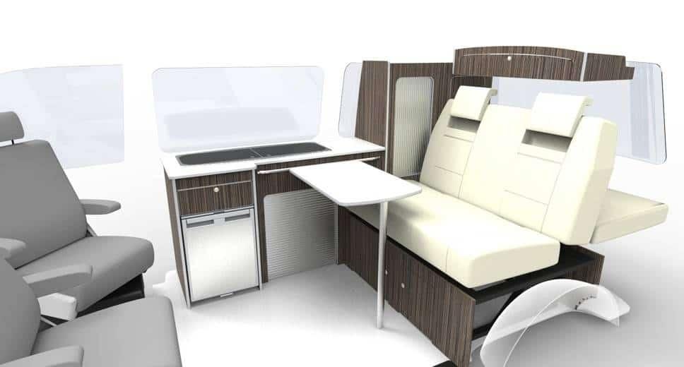 Campervan Flat Pack Furniture Units Vw T5 Transporter